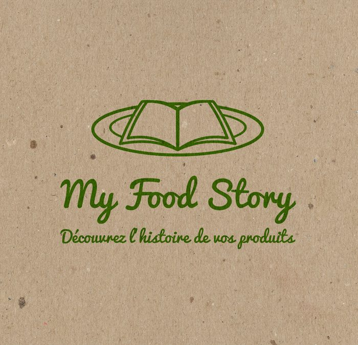 Logo et webdesign My Food Story